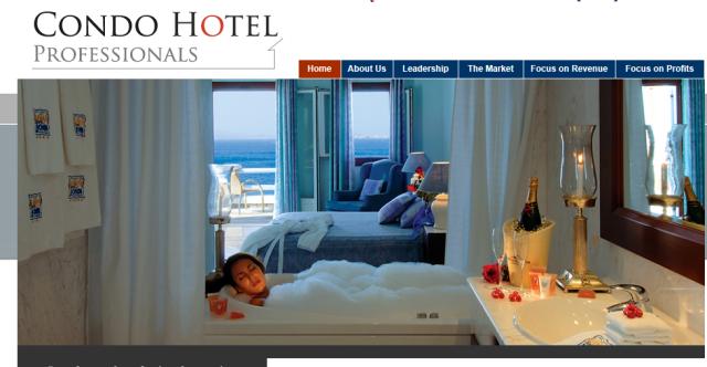 condo hotel proffessionals web site 1